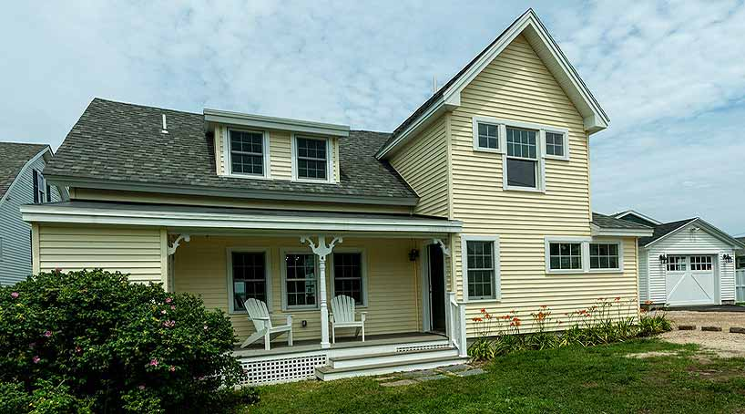 Sea View - Exterior Back - York Beach, Maine Vacation Rental