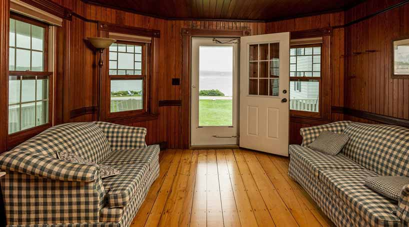 Sea View - Paneled Sitting Room, View 1 - York Beach, Maine Vacation Rental