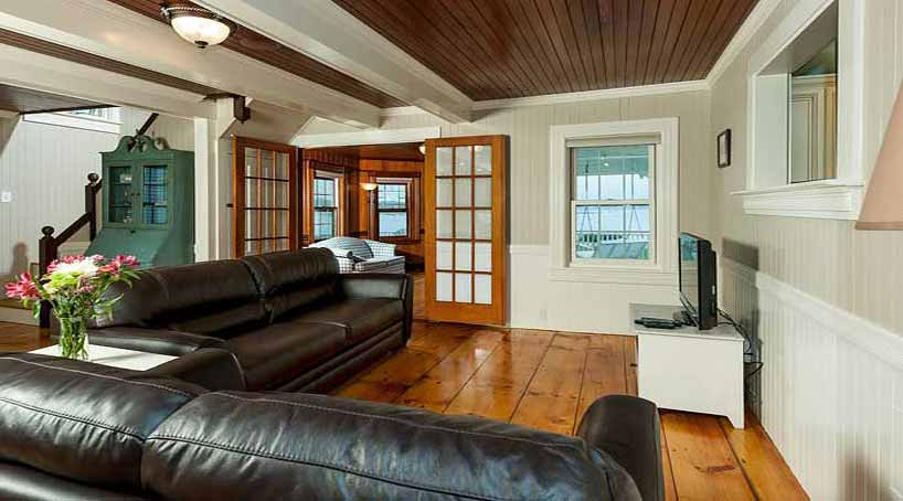 Sea View - Living Room, View 3 - York Beach, Maine Vacation Rental