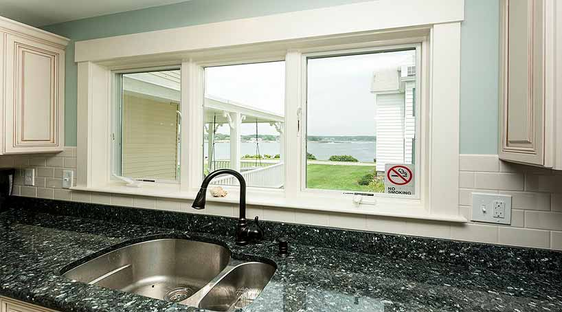 Sea View - Kitchen, View 3 - York Beach, Maine Vacation Rental