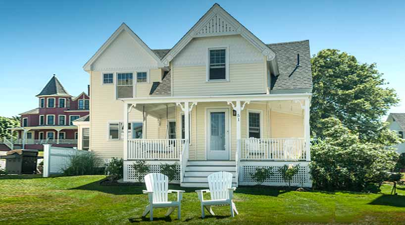Sea View - Exterior 1 - York Beach, Maine Vacation Rental