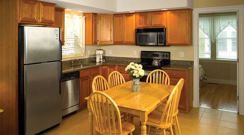 Carriage House Kitchen - Vacation Rental - York, Maine