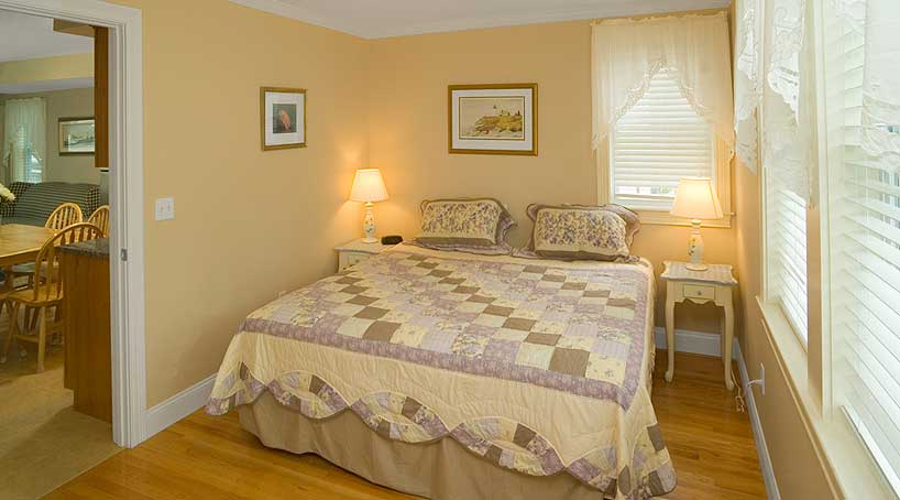 Carriage House Bedroom 1 of 5 - Vacation Rental - York, Maine