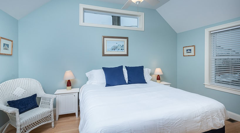 Posh Bedroom in Cottages at York Beach Maine