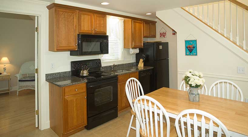 The Cottages, Kitchen - Vacation Rentals - York Beach, Maine