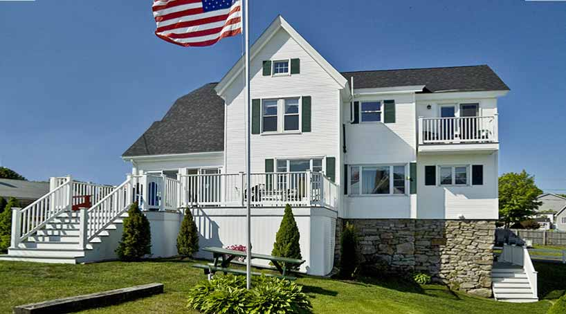 OLB Main House, Front - Vacation Rental at York, Maine