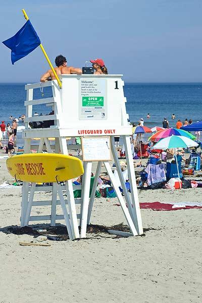 Fun in the sun atYork Beach, Maine