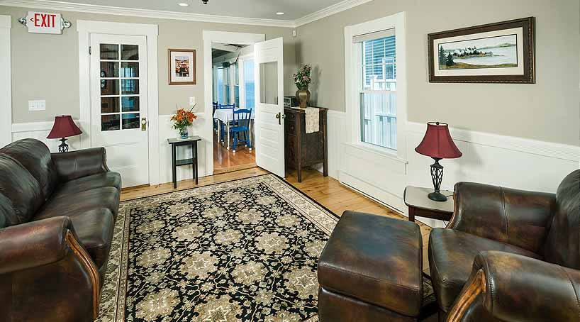 Sand and Surf Living Room - York, Maine Vacation Rental