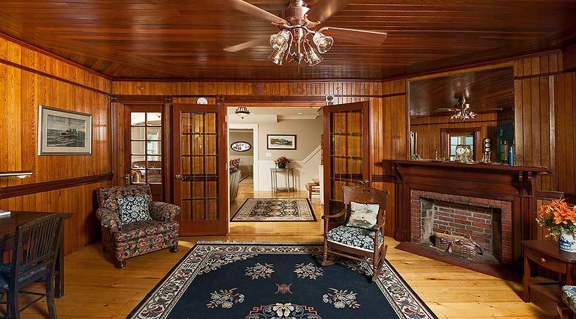 Sand and Surf Paneled Sitting room - York, Maine Vacation Rental