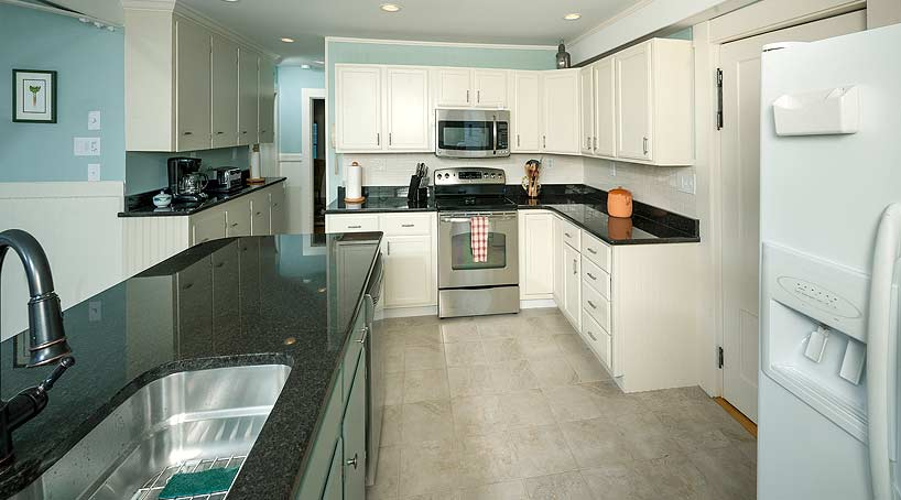 Sand and Surf Kitchen View 2 - York, Maine Vacation Rental